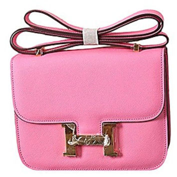 Hermes Constance Pink With Gold Hardware 608112