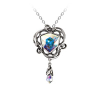 Alchemy Gothic Empyrian Eye: Tears From Heaven Pendant Necklace
