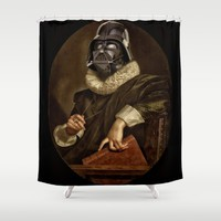 baroque darth Shower Curtain by Startistunknown | Society6