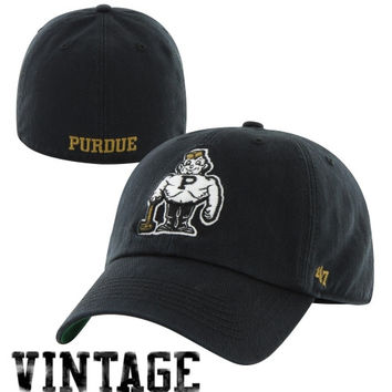 47 Brand Purdue Boilermakers New Vault Franchise Fitted Hat - Black