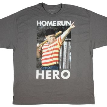 The Sandlot Men's T-Shirt Home Run Hero Ham Photo Licensed Men's