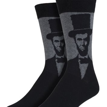 Abraham Lincoln Men's Crew Socks