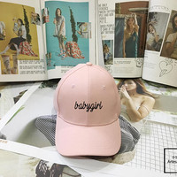 Babygirl Dad Hat - Baseball Cap, Tumblr hat ,Strap Back Baseball Hat Baseball Cap , Low-Profile Baseball Cap Hat