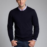 Bonobos Men's Clothing | Tipping Point -  Crew Neck - Navy