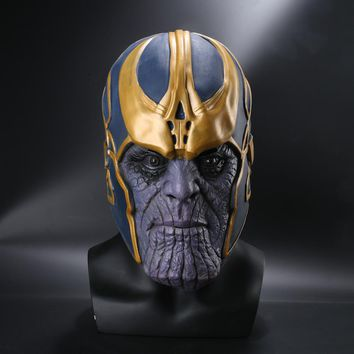 Avengers: Infinity War Cosplay Costumes Thanos Latex Mask