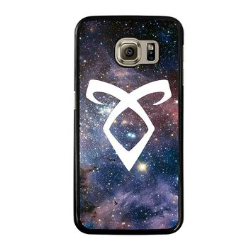 SHADOWHUNTERS ANGELIC RUNE NEBULA Samsung Galaxy S6 Case Cover