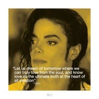 Michael Jackson: Dream Art Print