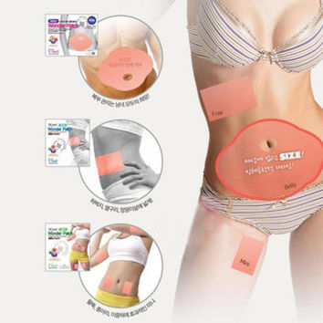 5pcs/bag belly abdomen slimming patch weight loss Health Care Strong Efficacy Slim Patch Anti Cellulite Cream For Slimming Patch