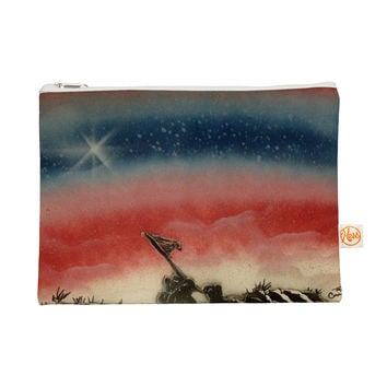 "Infinite Spray Art ""Veteran's Day"" Red Blue Everything Bag"