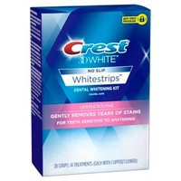 Crest 3D White Whitestrips Gentle Routine Teeth Whitening Kit -14 Treatments