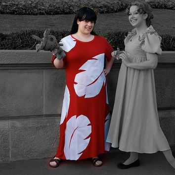 Adult Lilo Costume Dress (Made-To-Order)