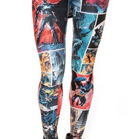 Batman and Robin leggings size medium