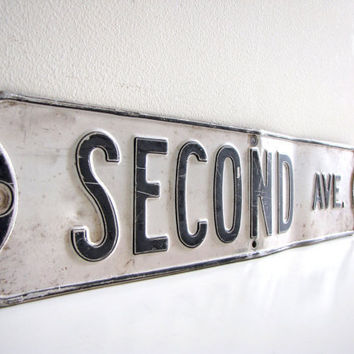Vintage Street Sign by FrenchByDesign on Etsy