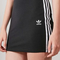 adidas Originals Black Three Stripe Mini Skirt