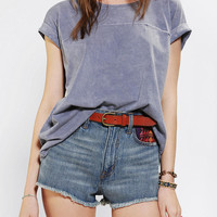 Urban Outfitters - Truly Madly Deeply Seamed Roll-Cuff Tee