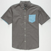 Retrofit Nathan Mens Shirt Black  In Sizes