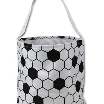 Halloween Basket Bucket Gift Bag for Girls Boys Trick Treat Bags - Kids Candy Tote