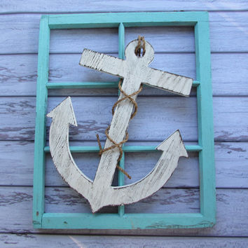 22 Inch Anchor. Large Anchor. Nautical Anchor. Beach Anchor. Beach Decor. Lake Decor. Nautical Decor. Coastal Decor. Made To Order