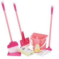 Just Like Home Deluxe Housekeeping Set - Pink