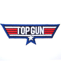 Top Gun Iron on Patch