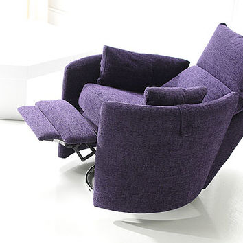 Dorota Fabric Swivel Recliner Chair Dorota Fabric Swivel Recliner Chair