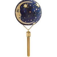 Judith Leiber Couture Man on the Moon Crystal Sphere Minaudiere