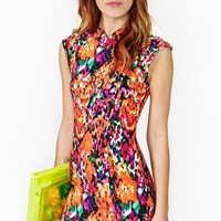 Electric Bloom Dress