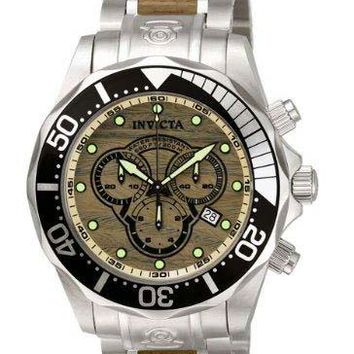 Invicta 0165 Men's Pro Diver Collection Chronograph Watch
