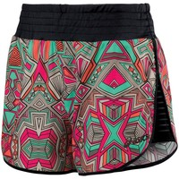 ASICS Cleo Pop Printed Workout Shorts - Women's, Size: