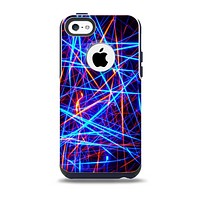 The Neon Glowing Strobe Lights Skin for the iPhone 5c OtterBox Commuter Case
