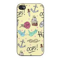 larry stylinson complimentary tattoo pattern iPhone 4 4s 5 5s 5c 6 6s plus cases