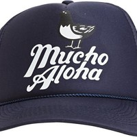 PIDGIN ORANGE MUCHO ALOHA TRUCKER > Mens > Accessories > Hats | Swell.com