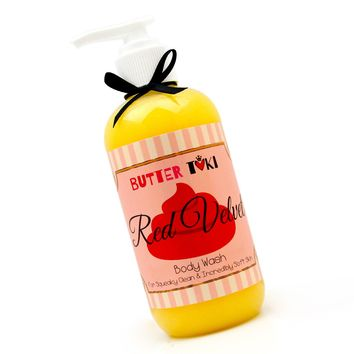 Red Velvet Cake Moisturizing Body Wash 8oz