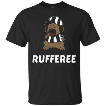 Rufferee - Funny Referee Dog T-Shirt