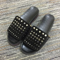 Christian Louboutin Cl Sandal Slippers Reference 1 - Best Online Sale