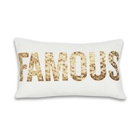 Famous Pillow - Gold