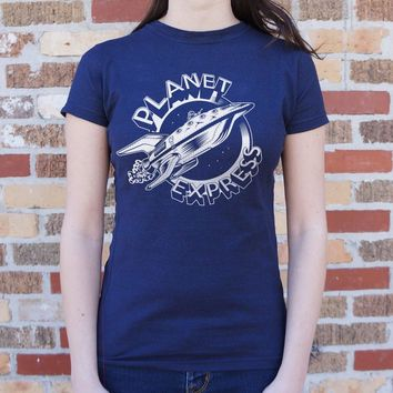 Planet Express Ship [Futurama] Women's T-Shirt