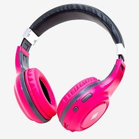 Polaroid Pink Bluetooth Headphones