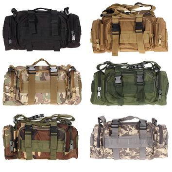 3L/6L Outdoor Military Tactical Waist Bag Waterproof Nylon Camping Hiking Backpack Pouch Hand Bag mochila military bolsa