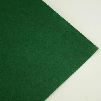 Nonwoven Polyester Ernbroidery Art Work Dark Green Colour Felt Fabric Automotive Decorative Clean Materials Suitcates 1mm Thick