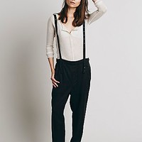 Free People Womens Harem & Suspender Pants