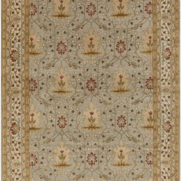 Bungalow Arts and Crafts Area Rug Gray, Neutral
