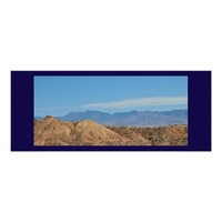 Scenic Mountain View Poster