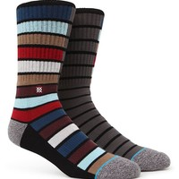 Stance Booth Crew Socks - Mens Socks - Multi - One