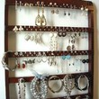 Elegant 54 Pair Earring Jewelry Organizer