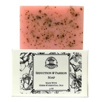 Seduction & Passion Shea Herbal Soap Bar For Wiccan, Pagan, Conjure & Hoodoo Spells & Rituals