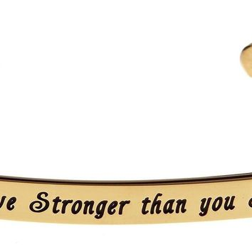 """""""You are Braver than you Believe Stronger than you Seem and Smarter than you ..."""