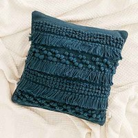 Anita Woven Shag Pillow - Urban Outfitters