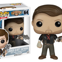 Pop! Games - Bioshock Infinite - Booker DeWitt (Skyhook) 64 Vinyl Figure (New)