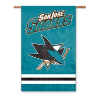 San Jose Sharks Banner Flag (Sks Team)